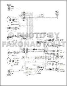 1975 Chevy Wiring Diagram Pickup Suburban Blazer Cheyenne Scottsdale Silverado | eBay