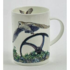 Border Fine Arts Barn Owl In Flight China Mug EBay