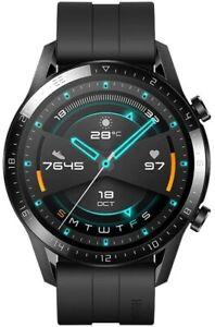 Huawei GT 2 46mm Smart Watch - Matte Black   Brand New