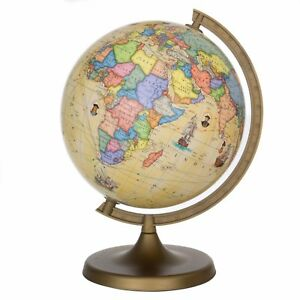 Voyager Globe Children s Globe World Globe Antique Map Geography NEW     Image is loading Voyager Globe Children 039 s Globe World Globe