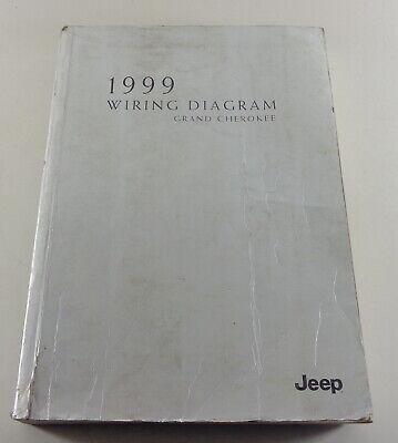 electric schematics/wiring diagram jeep grand cherokee type wj1999   ebay