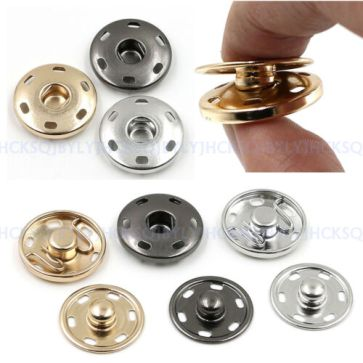 10-21mm-Metal-Buttons-Snap-Fastener-Press-Stud-Popper-Sew-On-Sewing-Fabric-Craft