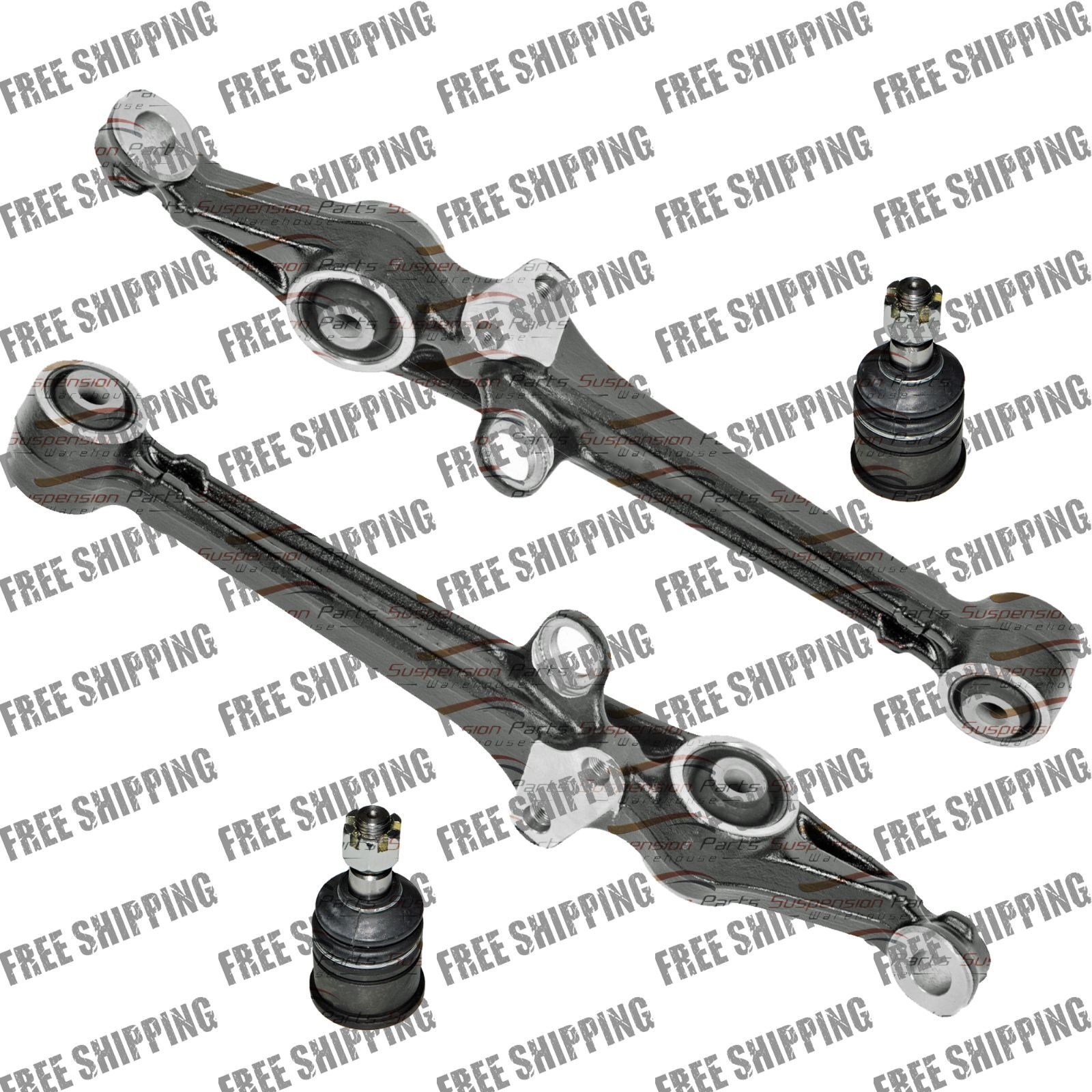Front New Lower Control Arm With Lower Ball Joint Set For