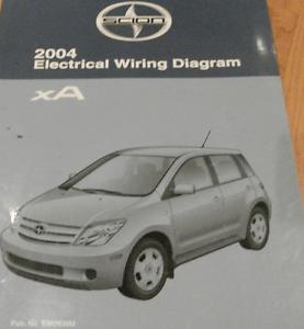 2004 TOYOTA Scion xA Electrical Wiring Diagram Service