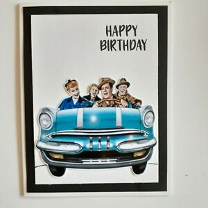 Feliz Cumpleanos Tarjeta De Felicitacion De I Love Lucy Ebay