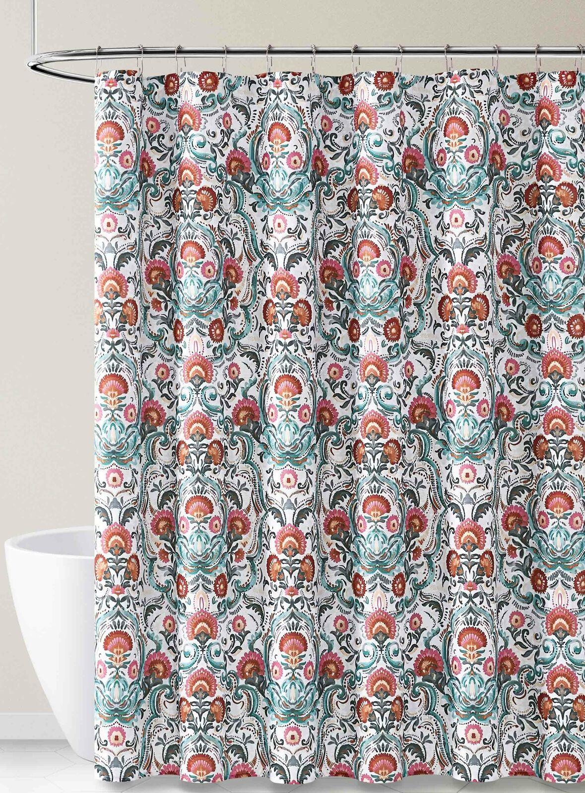 Marimekko Shower Curtain Iso Satakieli Design By Maija Louekari White Multi For Sale Online Ebay