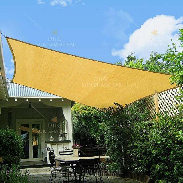 13 x10 rectangle sun shade sail cover