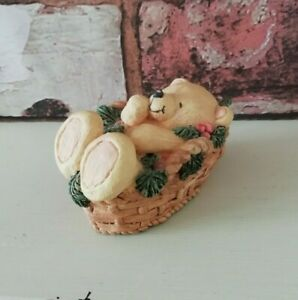 Forever Friends Figurine Andrew Brownsword Sleeping Basket ...