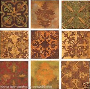 details about mosaic kitchen decorative backsplash ceramic accent tile artistic 9 tile set