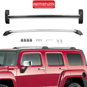 details about roof rack cross bar set for 06 10 hummer h3 h3t pickup sport utility 4 door