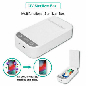 UV Phone Sanitizer Box Aromatherapy Disinfection Case Mask clearner phone Soap
