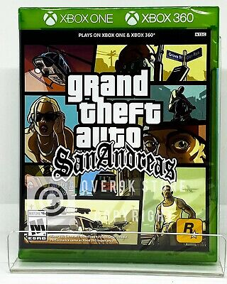 Grand Theft Auto San Andreas Xbox 360 Xbox One Brand New Factory Sealed Ebay