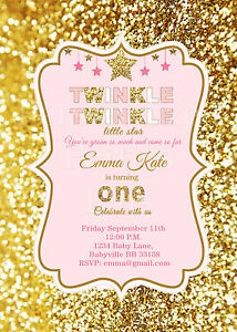 printable girls birthday invitation