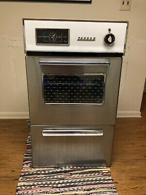 vintage tappan gas wall oven broiler with nutone exhaust fan owners manual ebay