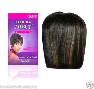 outre premium collection 100 human hair weave premium duby kiss