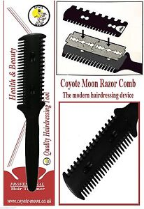 hair razor b 10 blades cut scissor hairdressing thinning trim punk emo ebay