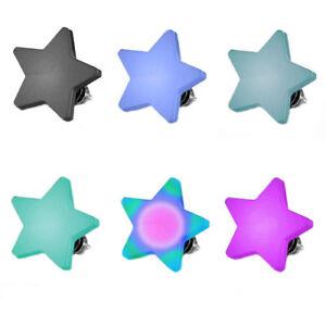 Micro Dermal Anchor Piercing Aufsatz Platte Flach Gewinde Stern
