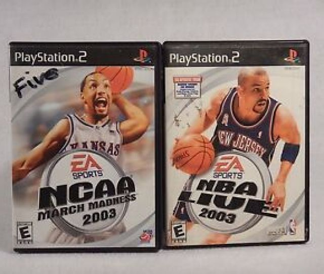 Image Is Loading Nba Live 2003 Sony Playstation 2 With Soundtrack