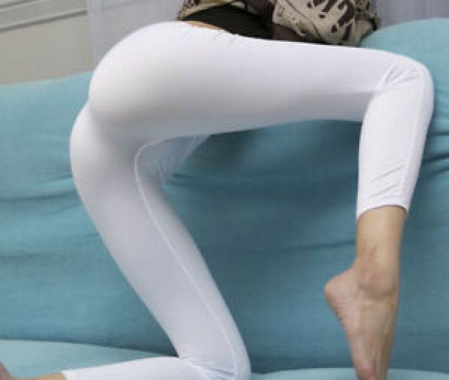 Image Is Loading Sexy Ice Silk Transparent One Piece Leggings See