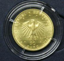 KI71) 50 EURO Gold 1/4 oz Unze 2020 Orchesterhorn (G), mit ECHTHEITSZERTIFIKAT