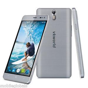 VKWorld G1 4G LTE Smartphone Unlocked Android 5.1 Octa Core 16GB Dual SIM Grey