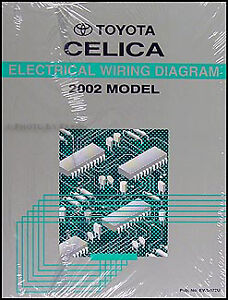 BRAND NEW 2002 Toyota Celica Wiring Diagram Manual