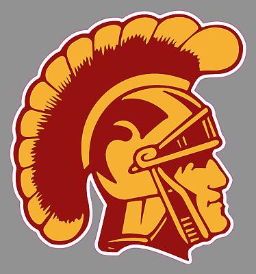 "USC Trojans Logo 6"" Vinyl Decal Bumper Sticker - NCAA College ..."