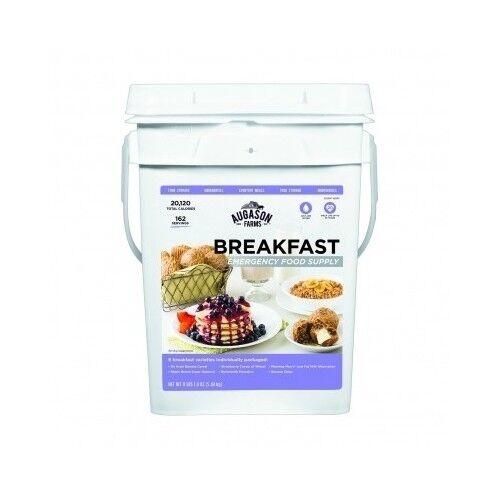 Breakfast Food Supply Pail Emergency storage Augason Farms survival kit camping 2