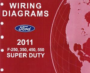 2011 Ford F250 F350 F450 F550 Factory Wiring Diagram