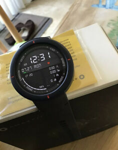 Huami Amazfit Verge Sport Smartwatch blue With Amazon Alexa