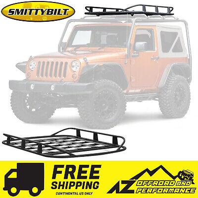 smittybilt src roof rack 2007 2018 jeep wrangler jk 2 door 76716 black ebay