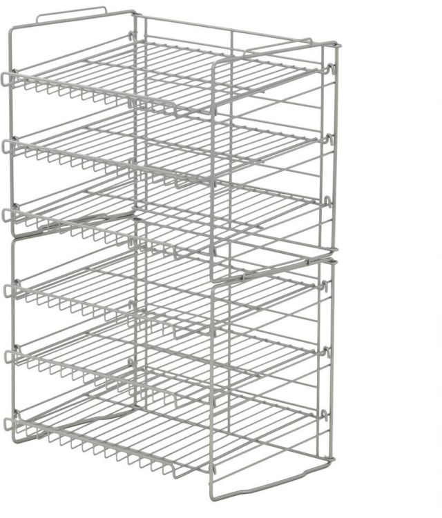Can Food Rack Holder Kitchen Pantry Organizer Soup Beer Soda Coke Storage Shelf 2