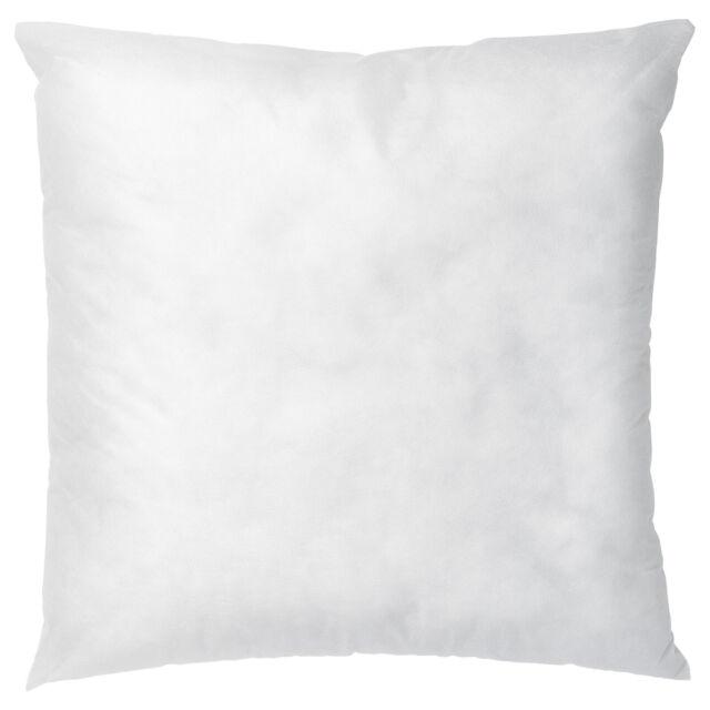ikea inner cushion pillow form insert white 20 x 20 50x50cm