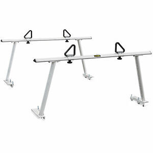 details about adjustable pickup truck ladder rack aluminum lumber cargo contractor utility