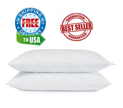 set 2 pack serta cooling gel memory foam pillow cluster free return 617014527739 ebay
