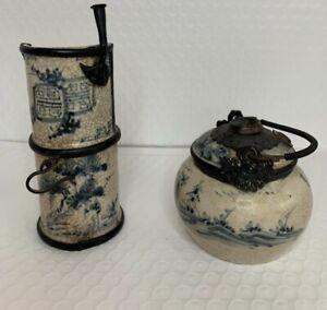 Antique Chinese Ceramic Opium pipes - bowl