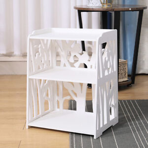 Chic Hollow Mini Bedside Table Storage Cabinet Nightstand Small Side End Table Ebay
