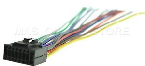 Wire Harness For Jvc Kd X200 Kdx200 Kd X210 Kdx210 Pay