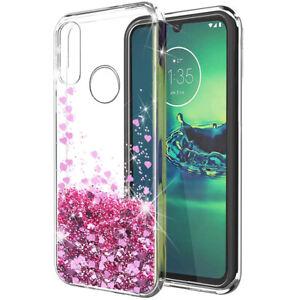 For Motorola Moto E 2020, G Stylus, G Power, G Pro Liquid Glitter TPU Case Cover