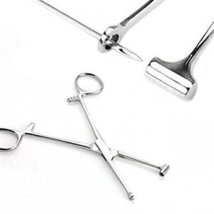 Edelstahl Piercing Zange Tragus Tool mit 3mm geschlossenen Eimer Tragus Stechen