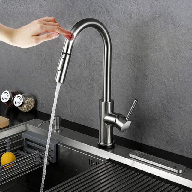 stainless steel touch sensor kitchen