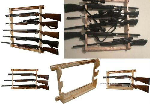 gun wall rack rifle storage display 2 3 5 riffles shotgun guns stand wall mount hunting com gun storage