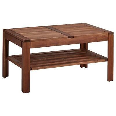 ikea table basse exterieur braun las d appoint de jardin ebay