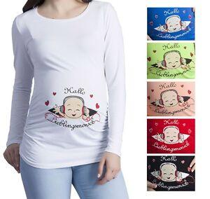 Umstandsmode T Shirt Mit Motiv Schwangerschafts T Shirt Spreadshirt