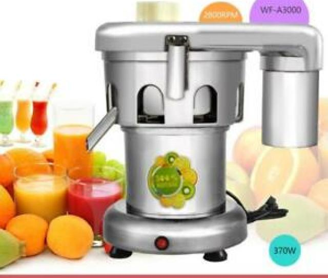 Image Is Loading Heavy Duty Commercial Juice Extractor Stainless Steel Juicer