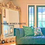 Prisca Large Ornate Silver Leaf Quatrefoil Wall Mirror Horchow 65 For Sale Online Ebay