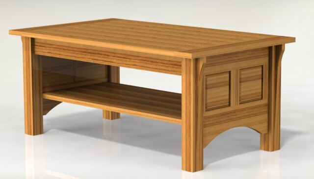 shaker style coffee table woodworking paper plans