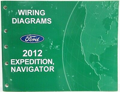 2012 ford expedition  lincoln navigator electrical wiring diagrams manual   ebay