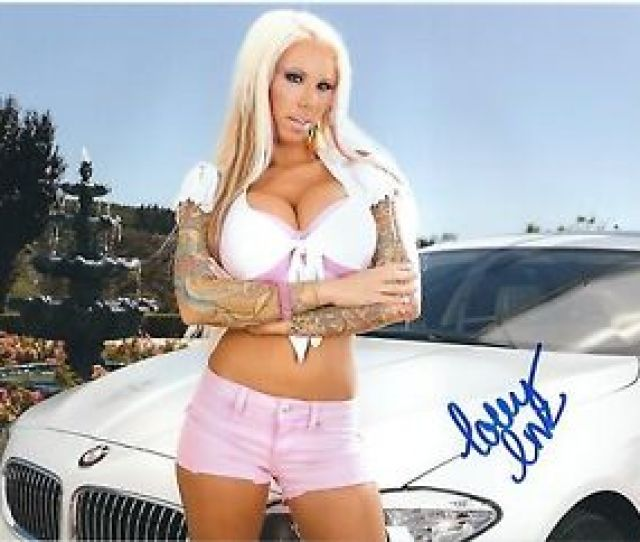 Image Is Loading Lolly Ink Adult Film Star Signed X Photo