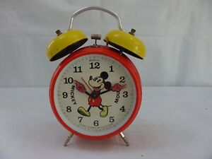 Alarm Clock Twin Bell Walt Disney